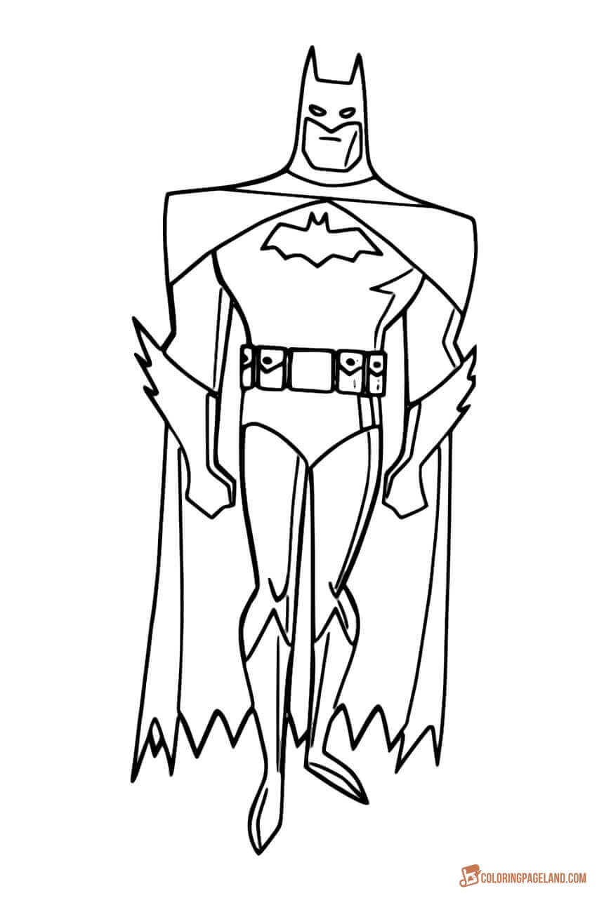 coloring batman printable batman begins coloring pages at getcoloringscom free coloring printable batman