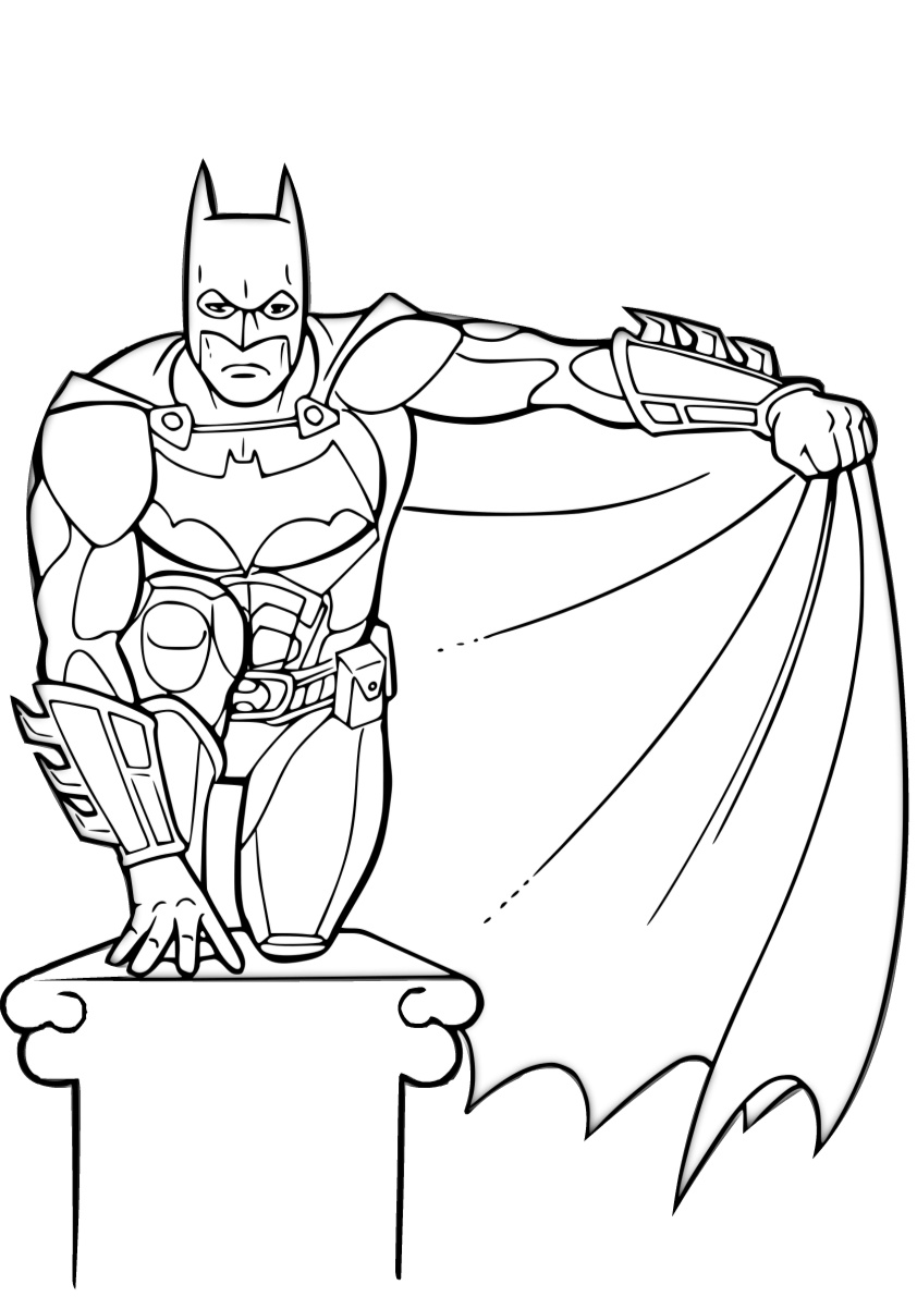 coloring batman printable the batman printable coloring page for kids and adults printable batman coloring