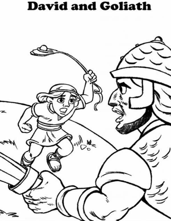 coloring bible large print printable david and goliath coloring page with 17 best print large coloring bible