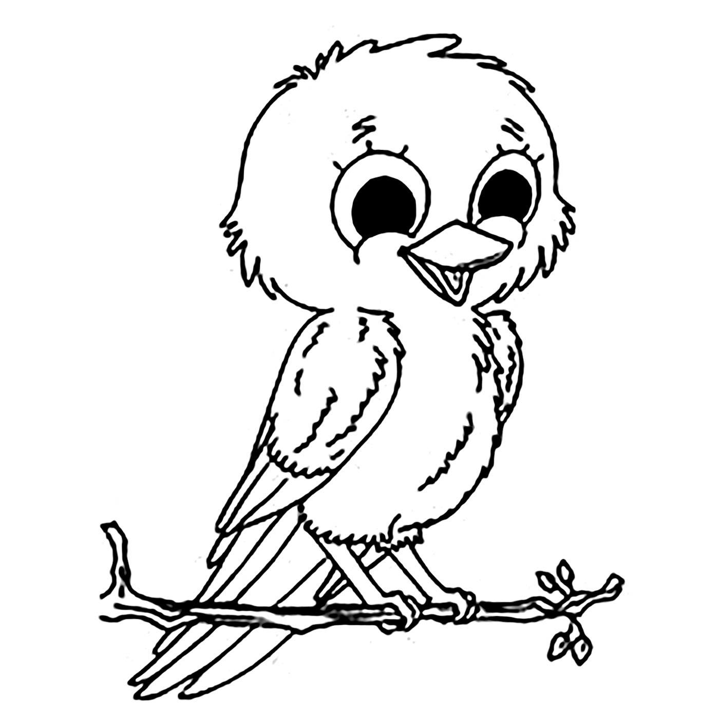 coloring bird for kids cute bird coloring page for kids tsgoscom kids coloring for bird