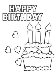 coloring birthday card template free happy birthday coloring page and hershey template coloring birthday card