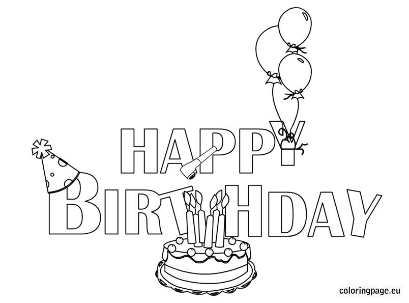 coloring birthday card template free printable birthday cards paper trail design birthday template coloring card