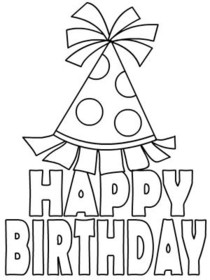 coloring birthday card template free printable birthday cards the organised housewife template coloring card birthday