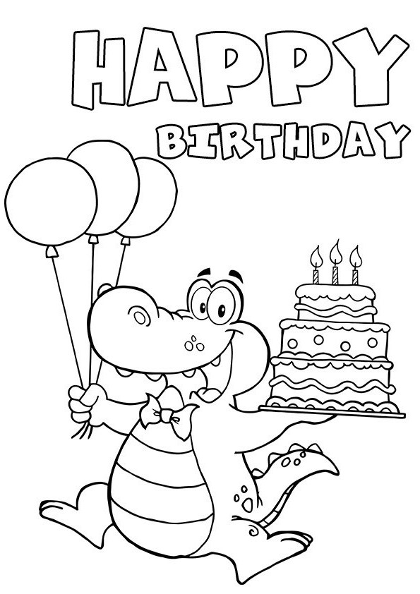 coloring birthday card template printable birthday card coloring page gifts pinterest template birthday coloring card