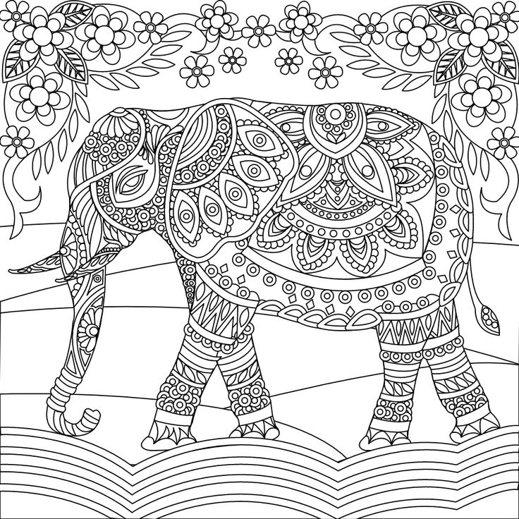 coloring book elephant images elephant coloring pages free download on clipartmag elephant book coloring images