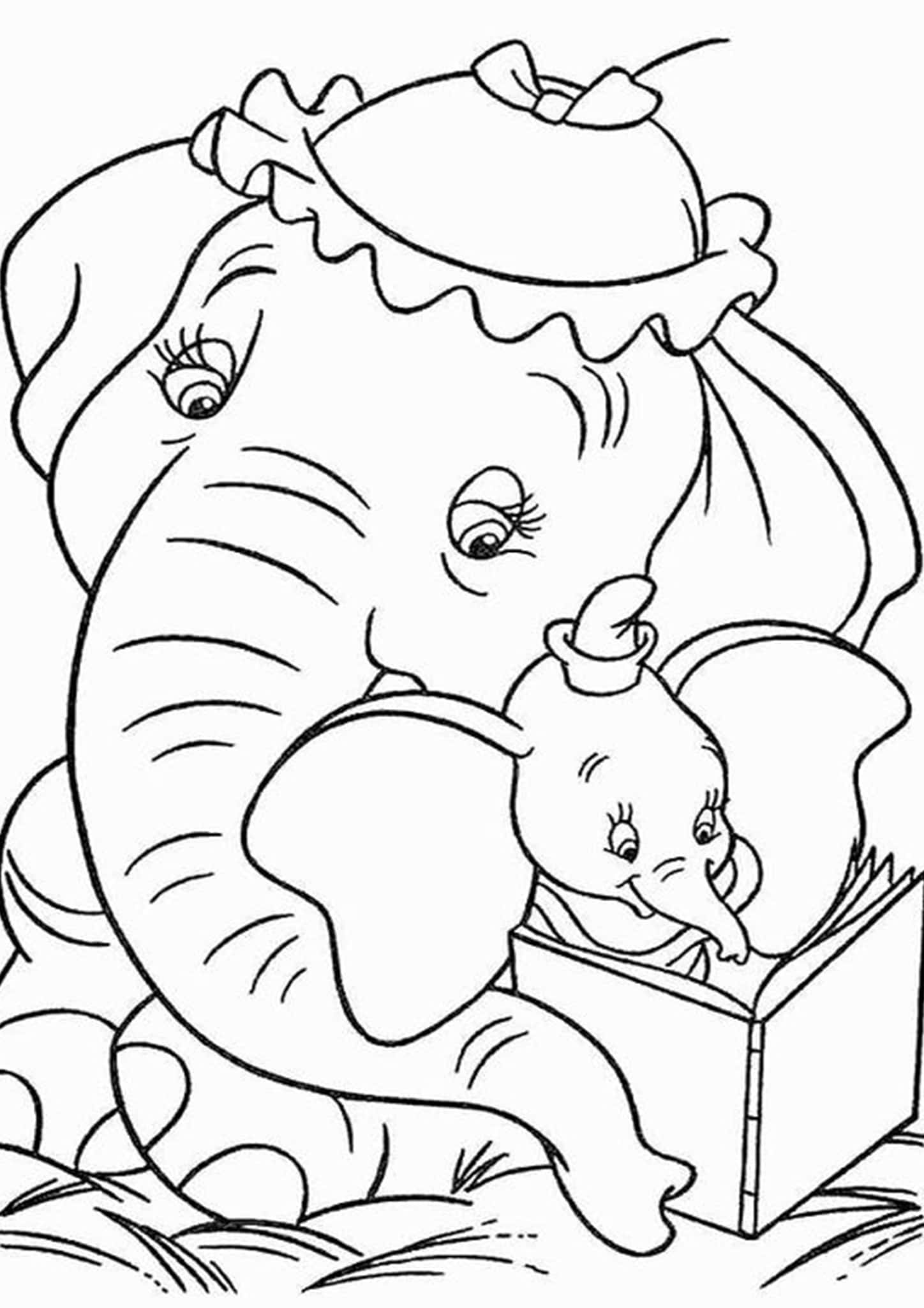 coloring book elephant images print download teaching kids through elephant coloring elephant book coloring images