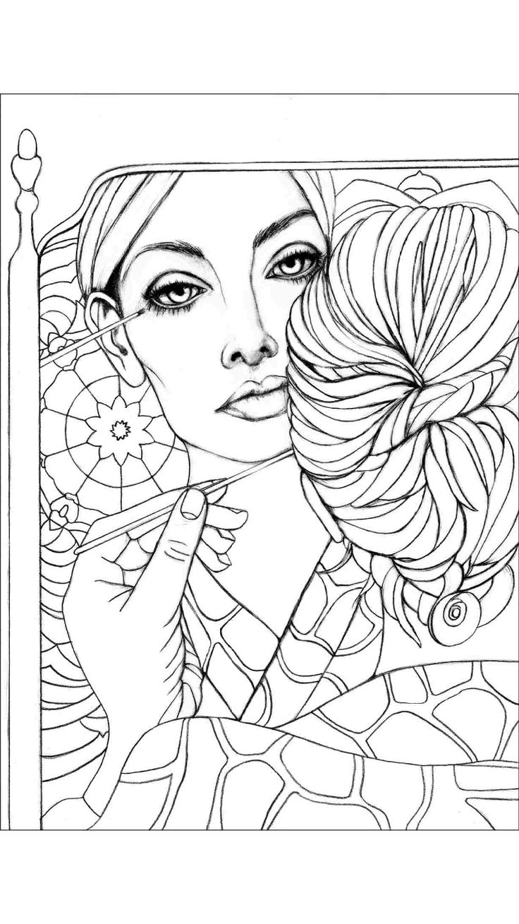 coloring books for grown ups 616 best coloring pages portraits for grown ups images books coloring ups for grown
