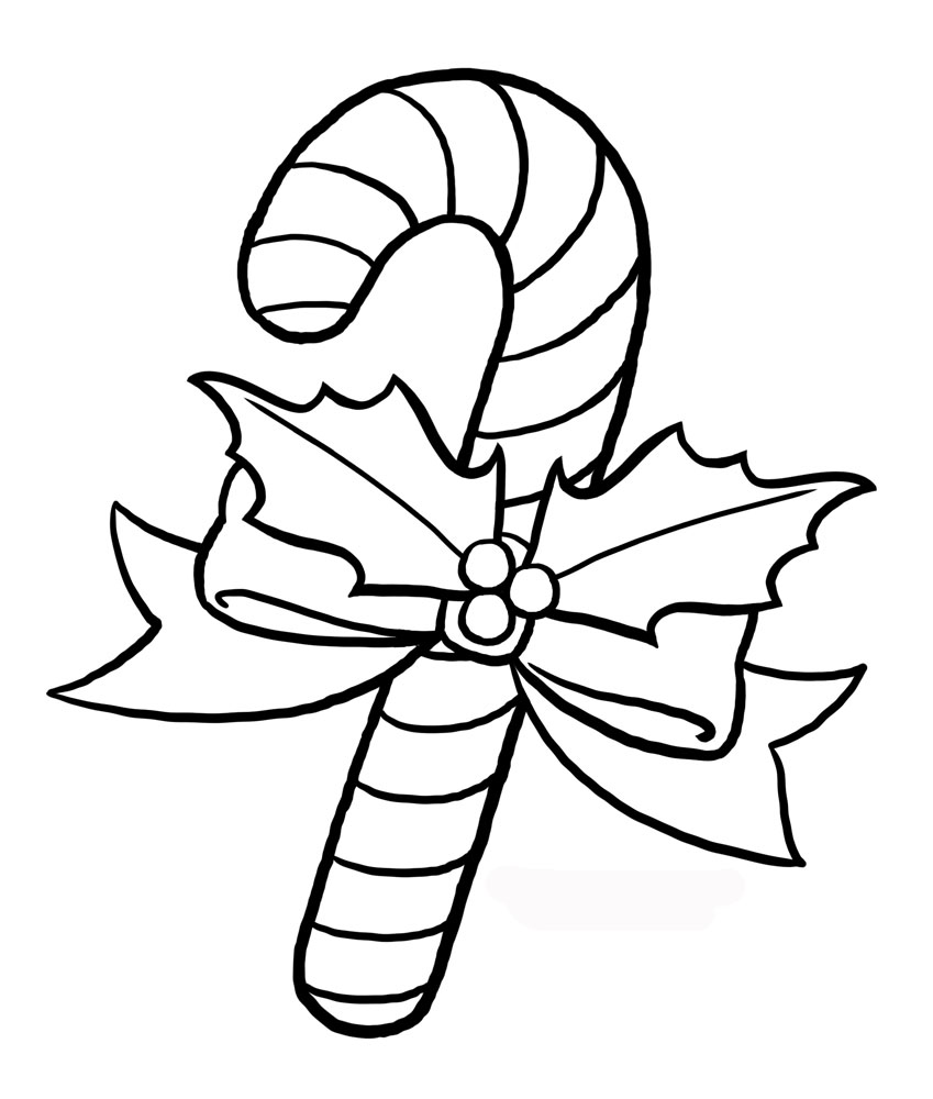 coloring candy cane christmas candy canes coloring pages printable candy coloring cane