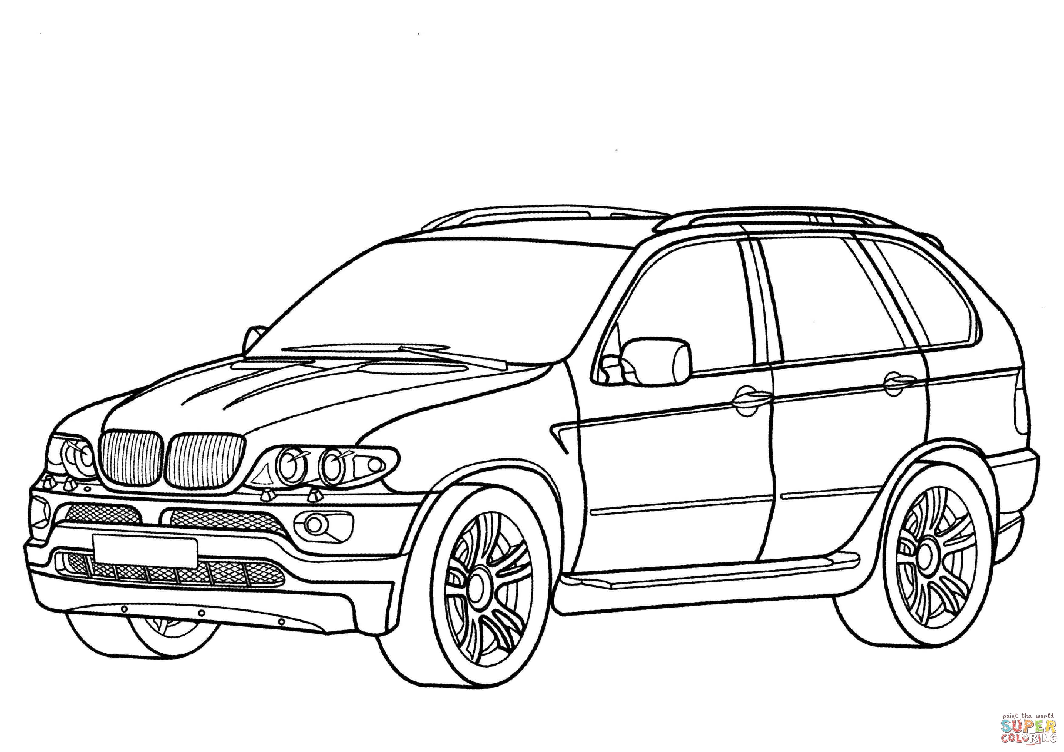 coloring cars bmw bmw 5 series coloring page free printable coloring pages coloring bmw cars