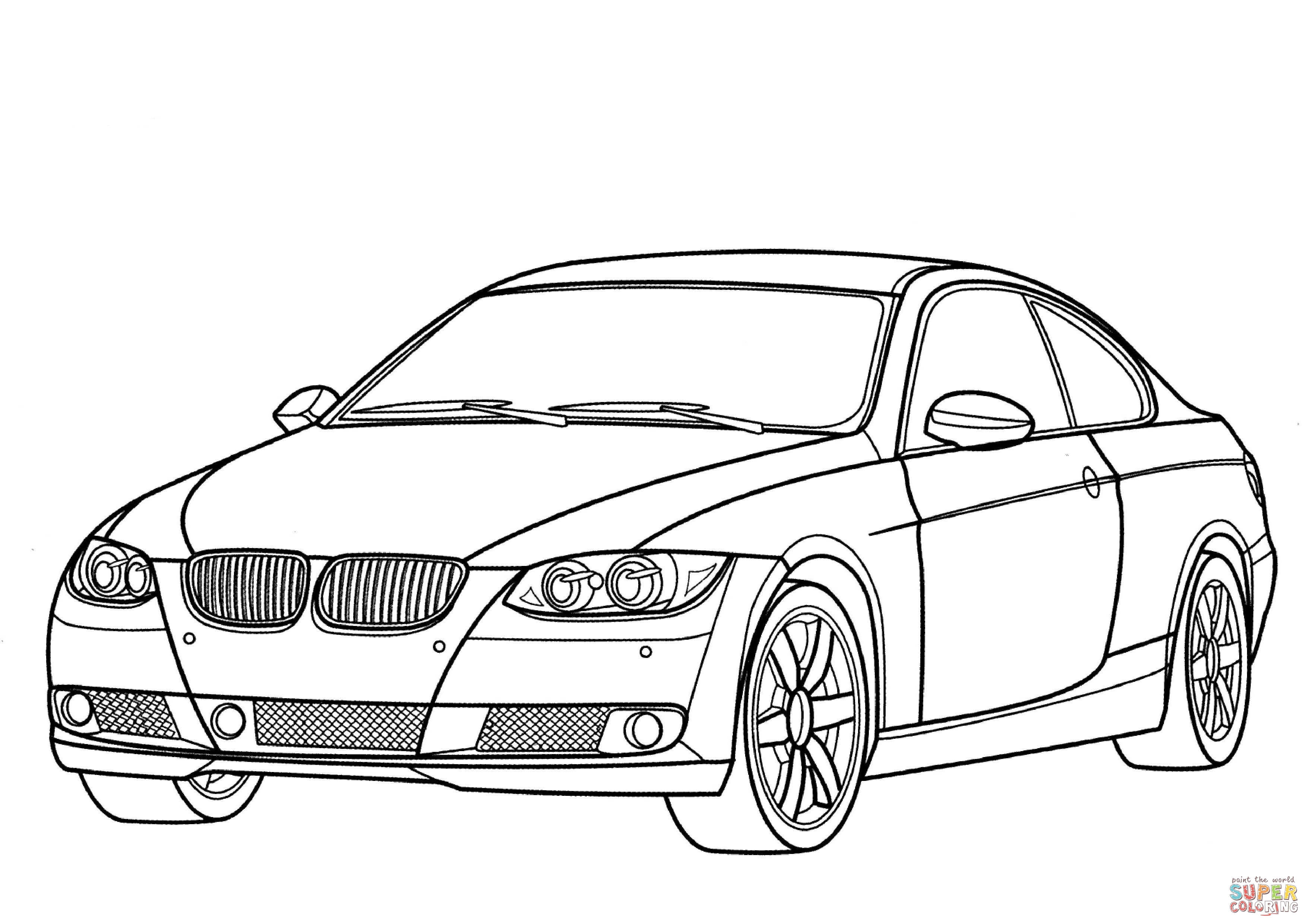 coloring cars bmw bmw m3 coupe coloring page free printable coloring pages cars coloring bmw