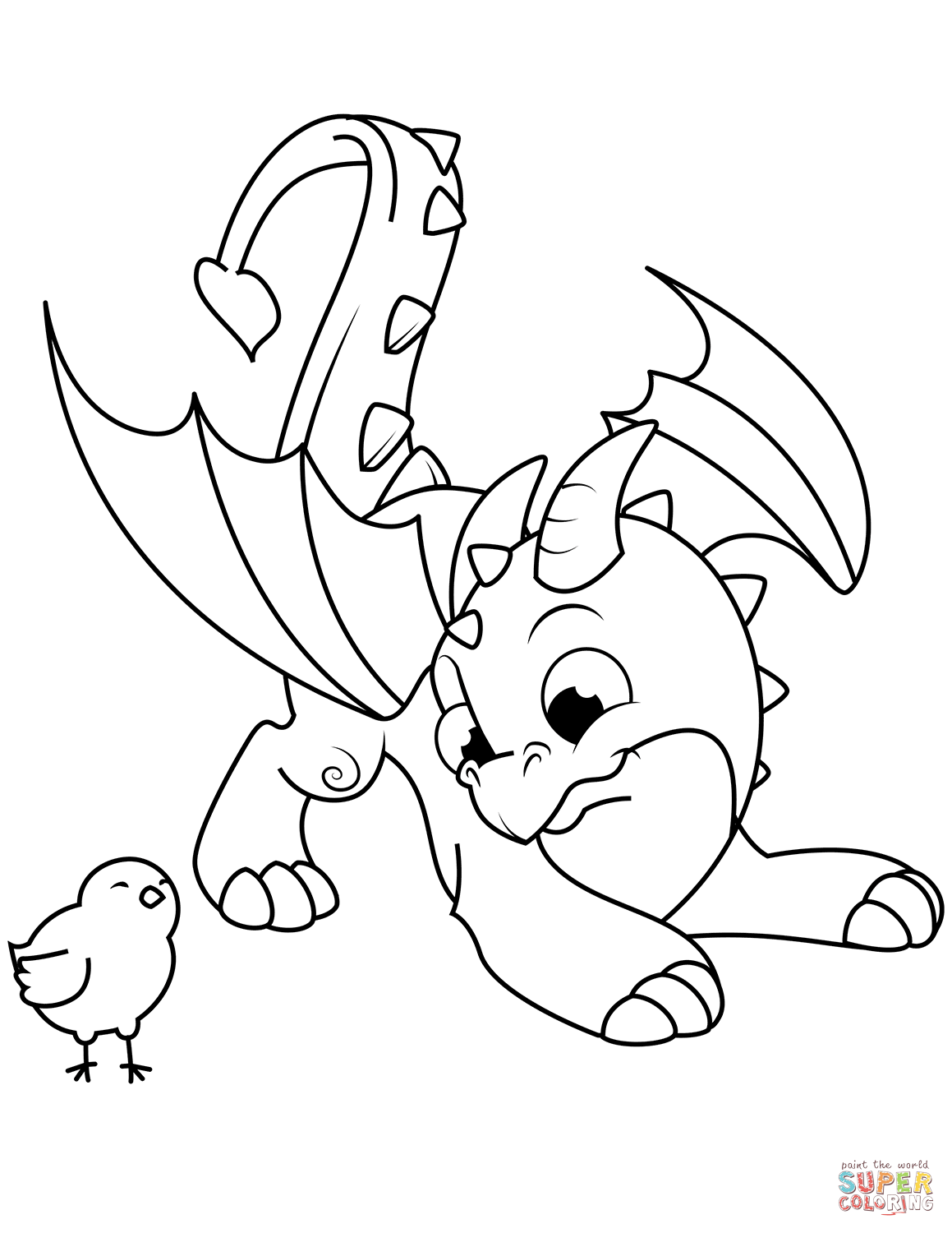 coloring cartoon dragons dragon coloring pages to download and print for free dragons cartoon coloring