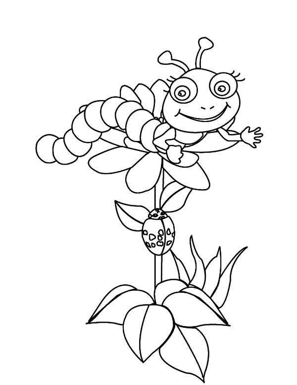 coloring caterpillar caterpillar coloring pages getcoloringpagescom coloring caterpillar