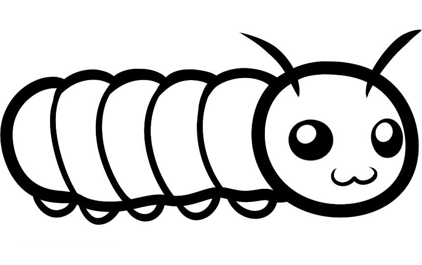 coloring caterpillar printable caterpillar coloring pages for kids cool2bkids coloring caterpillar