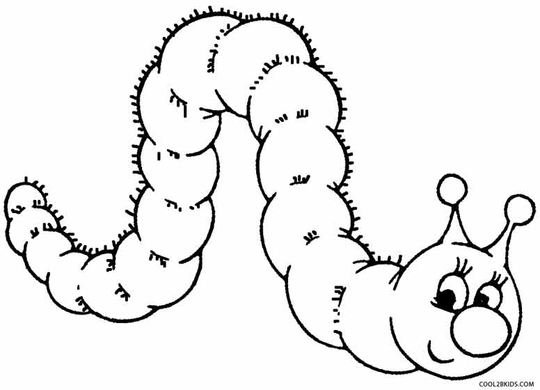 coloring caterpillar printable caterpillar coloring pages for kids cool2bkids coloring caterpillar 1 1
