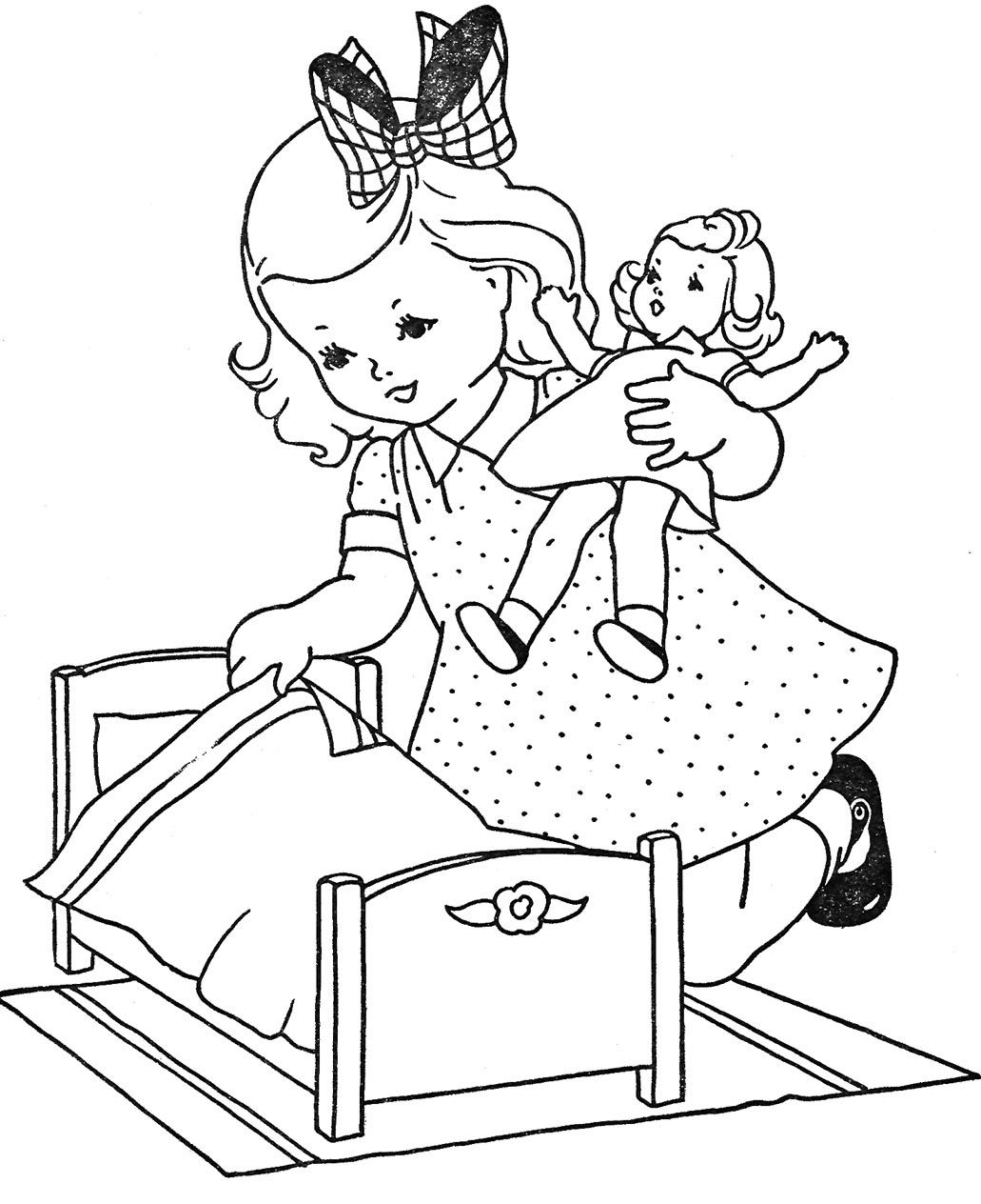 coloring clipart for kids doll coloring pages best coloring pages for kids clipart for coloring kids