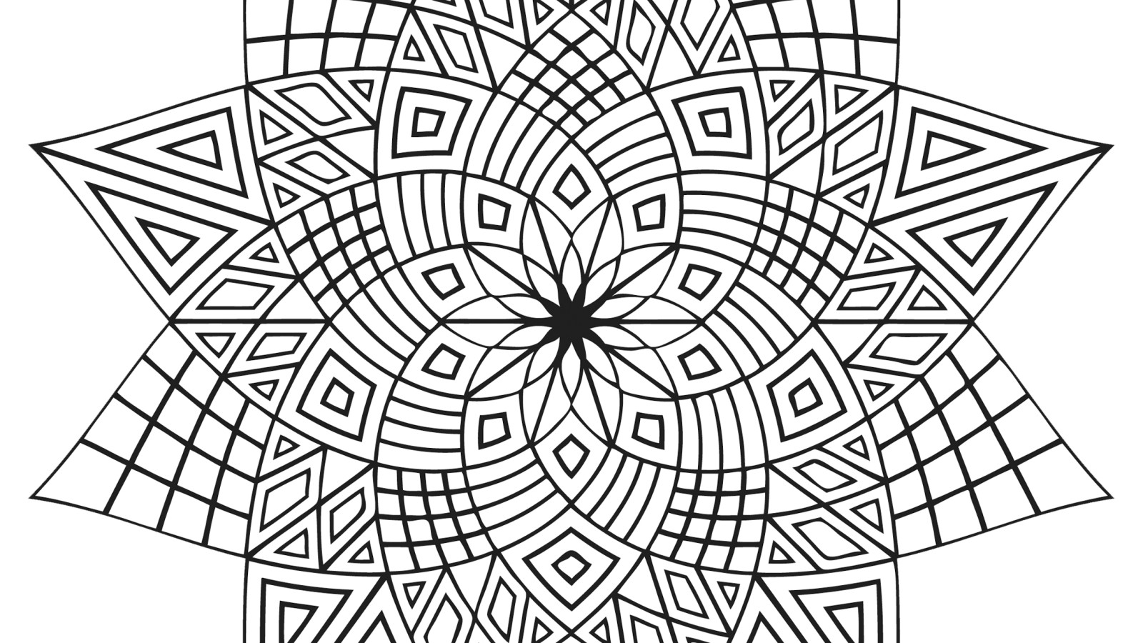 coloring designs free complex flower coloring pages at getcoloringscom free designs coloring free