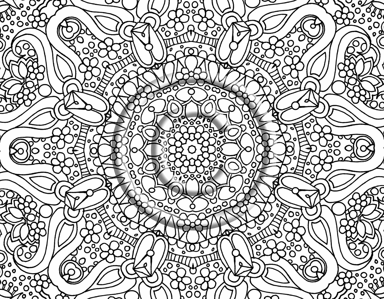 coloring designs free free printable abstract coloring pages for adults coloring free designs