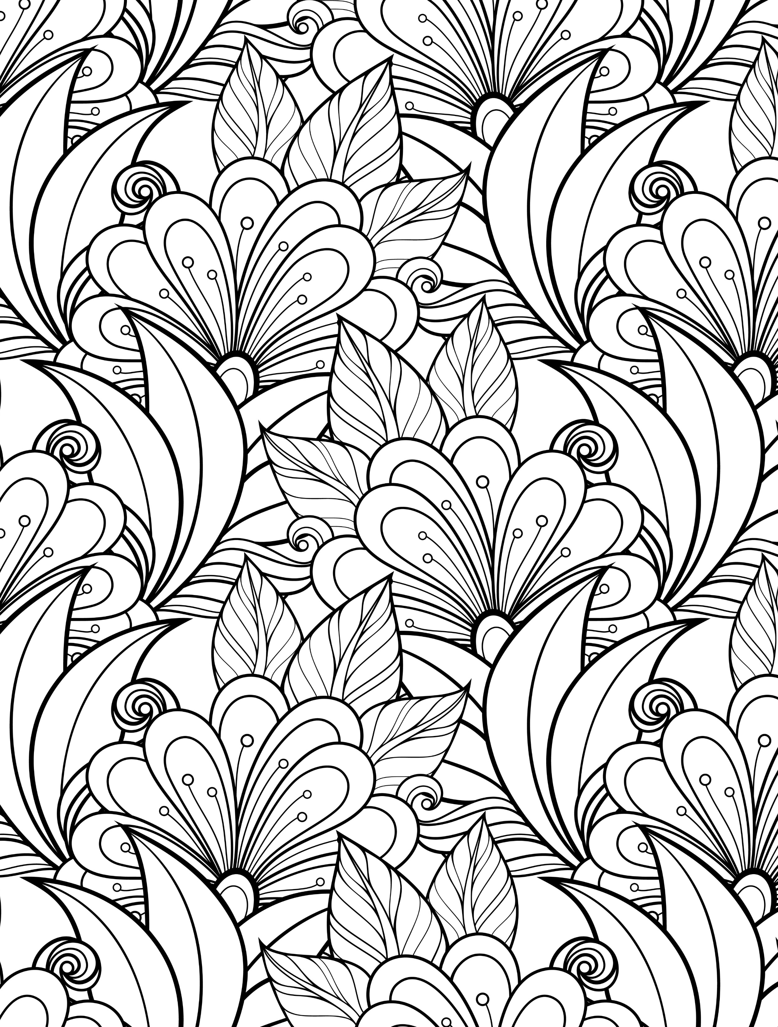 coloring designs free free printable abstract coloring pages for adults designs free coloring
