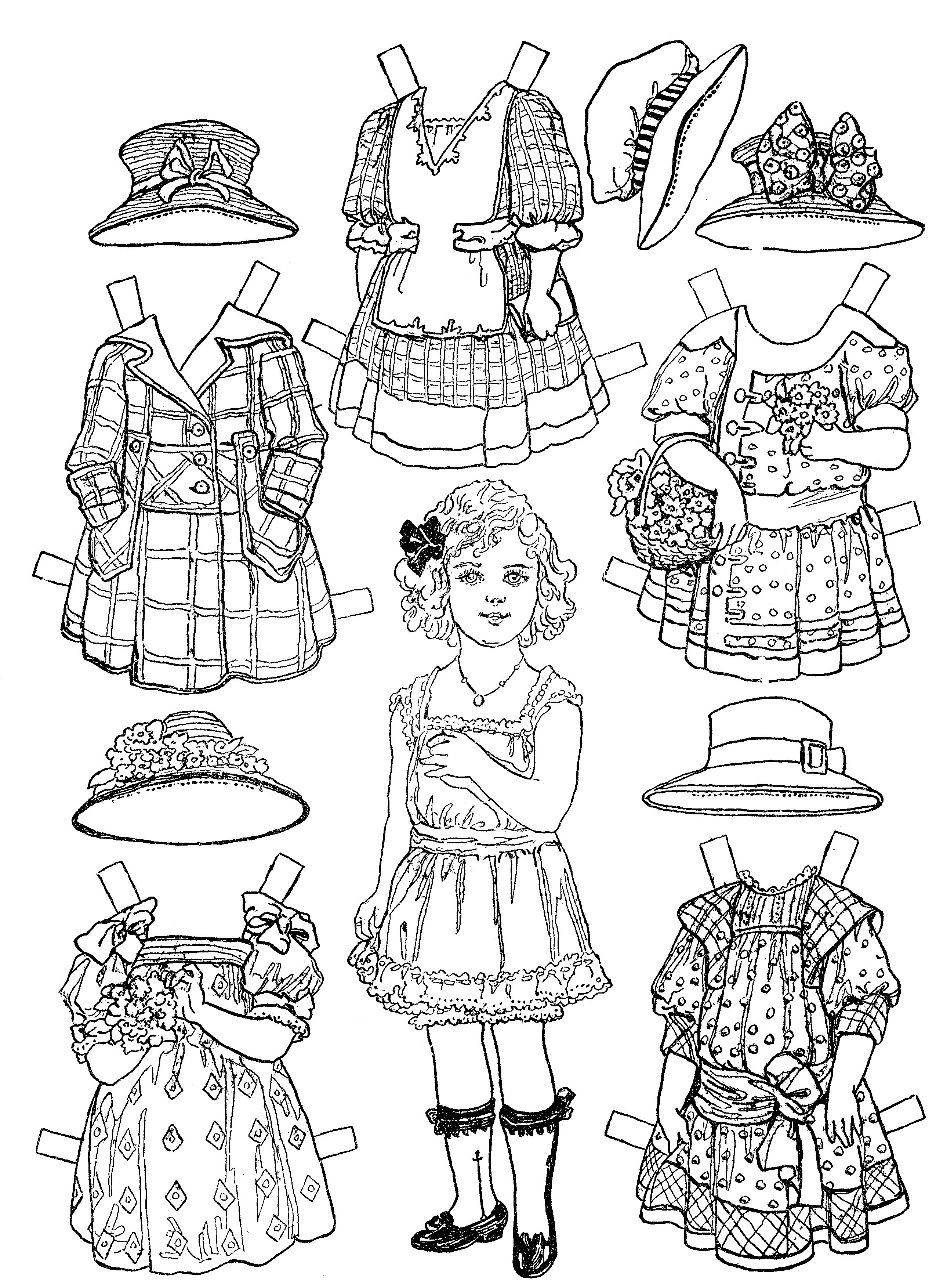coloring doll print dolls coloring pages print doll coloring 1 1