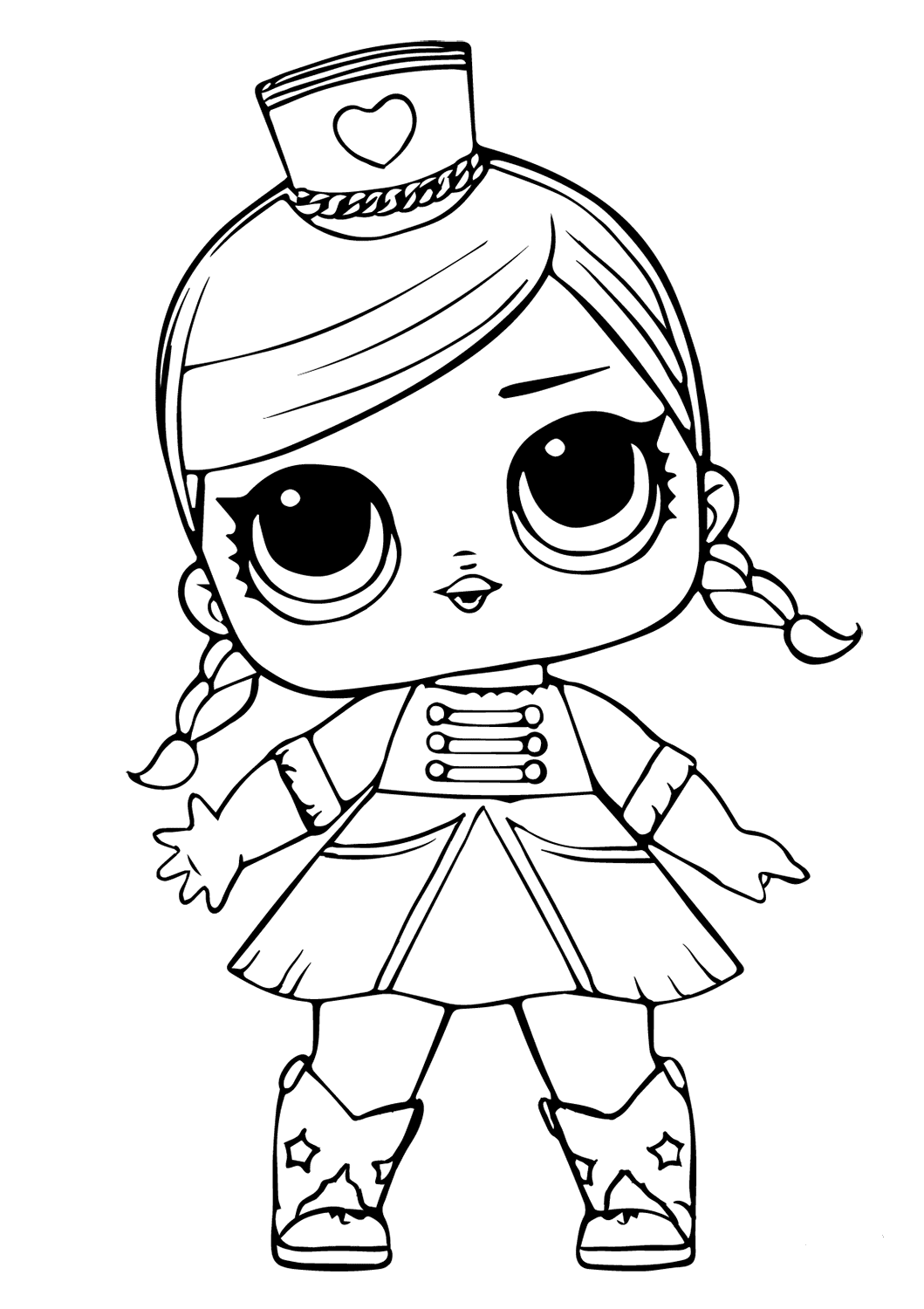 coloring doll print lol doll the lil queen coloring page free printable coloring print doll