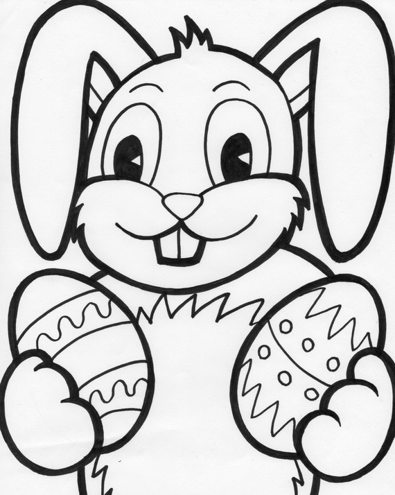 coloring easter bunnies easter bunny coloring pages for kids family holidaynet easter coloring bunnies