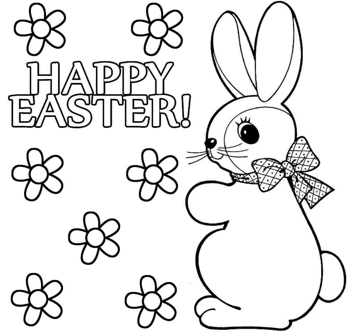 coloring easter bunnies easter bunny coloring pages to print to download and print easter bunnies coloring
