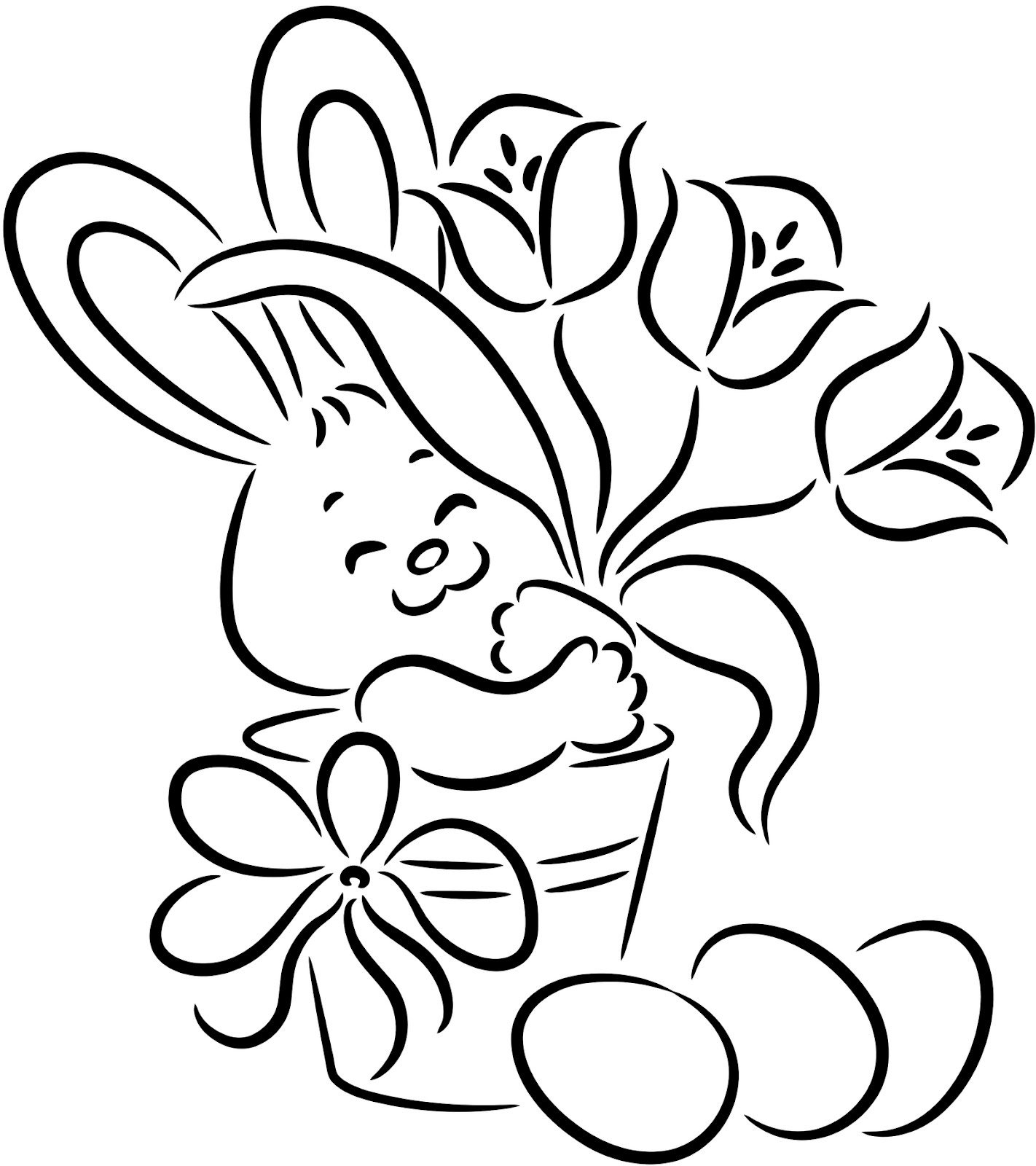 coloring easter bunnies easter bunny rabbit coloring pages coloring bunnies easter