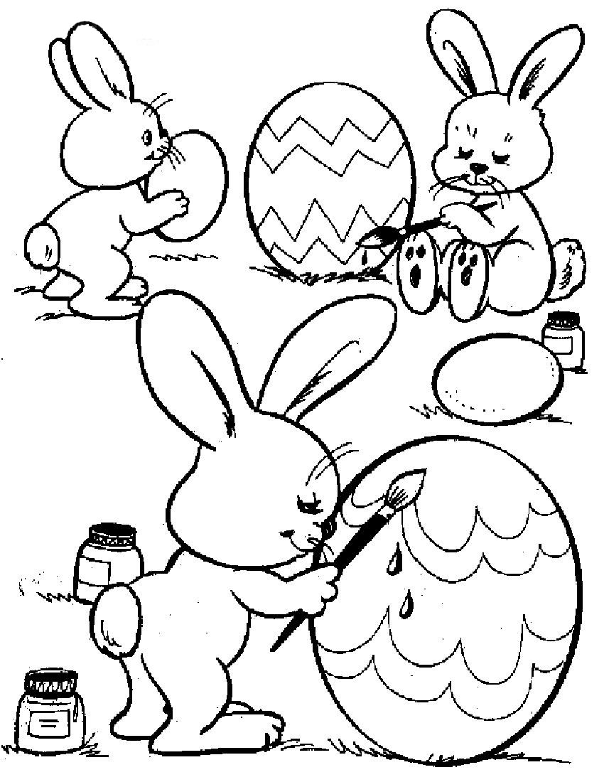 coloring easter bunnies easter pages to color coloring pages coloring bunnies easter