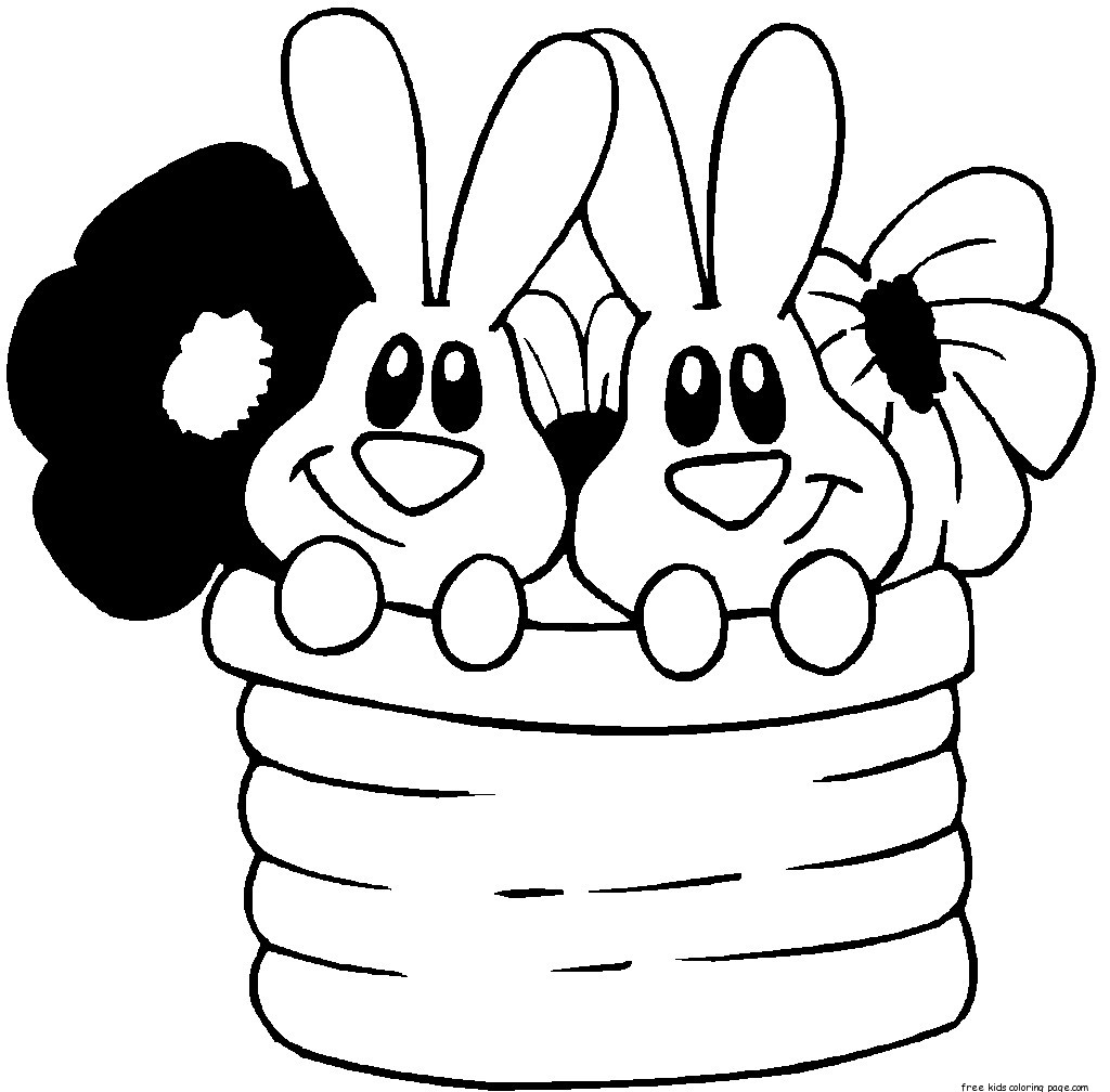 coloring easter bunnies printable easter bunny colouring pages kidsfree printable coloring bunnies easter