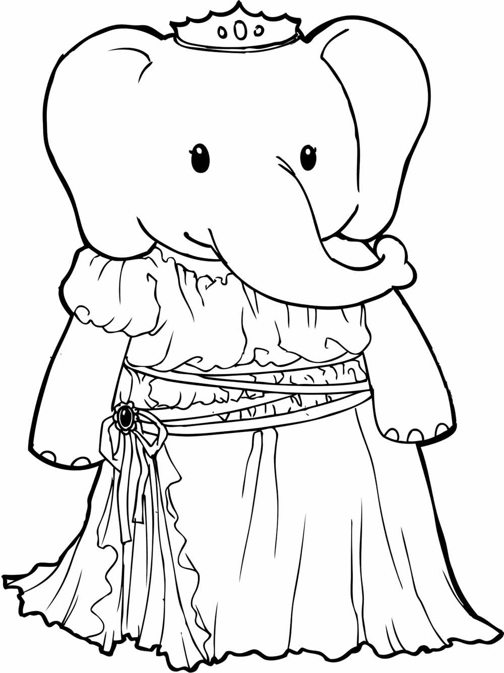coloring elephant tusks pink elephant tusk drawing at getdrawings free download coloring pink tusks elephant