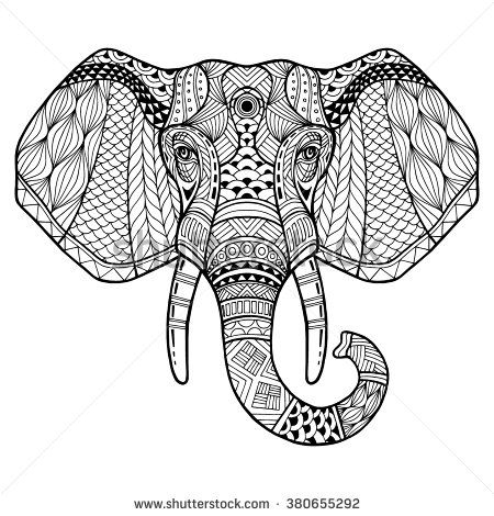coloring elephant tusks pink elephant with tusks coloring page print color fun coloring elephant tusks pink