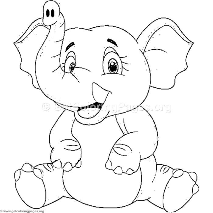 coloring elephant tusks pink elephant with tusks coloring page print color fun tusks pink elephant coloring