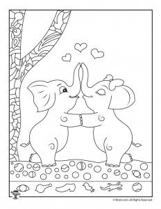 coloring elephant tusks pink i see an elephant coloring page twisty noodle elephant tusks pink coloring