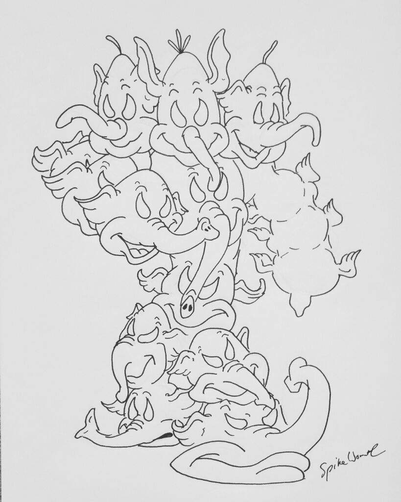 coloring elephant tusks pink t is for tusk coloring page twisty noodle coloring pink tusks elephant