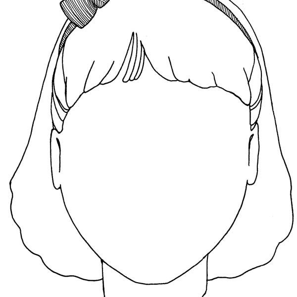 coloring faces adult coloring page girl portrait and clothes colouring coloring faces