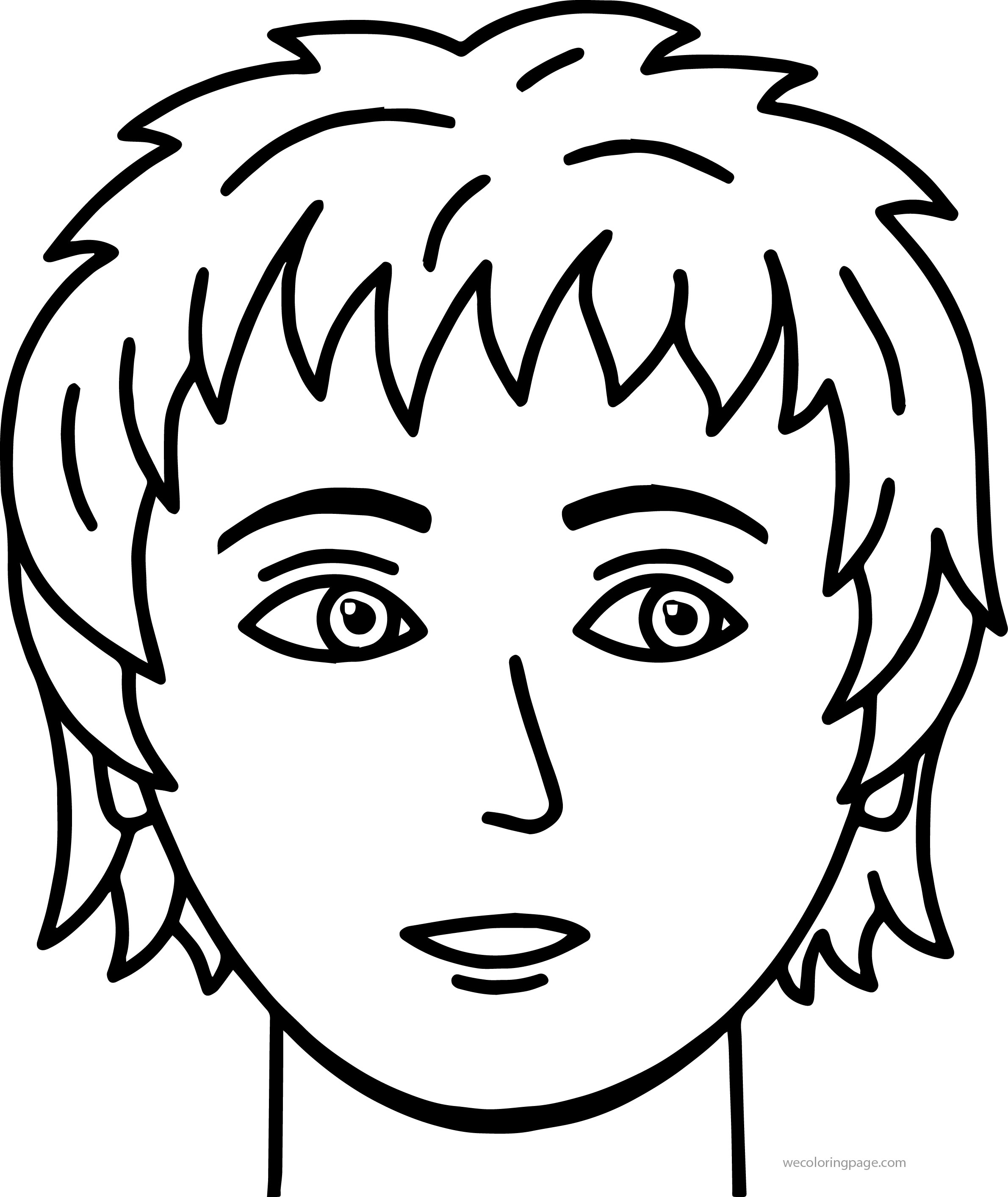 coloring faces boy face coloring page at getcoloringscom free faces coloring