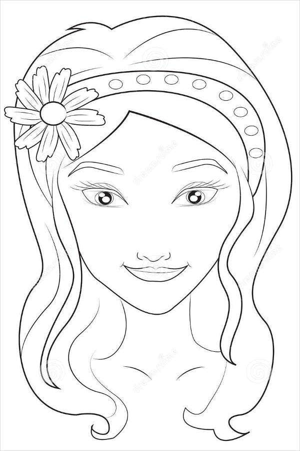 coloring faces free printable smiley face coloring pages for kids coloring faces 1 1