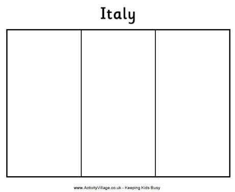 coloring flag italy free italy flag coloring page italy coloring flag