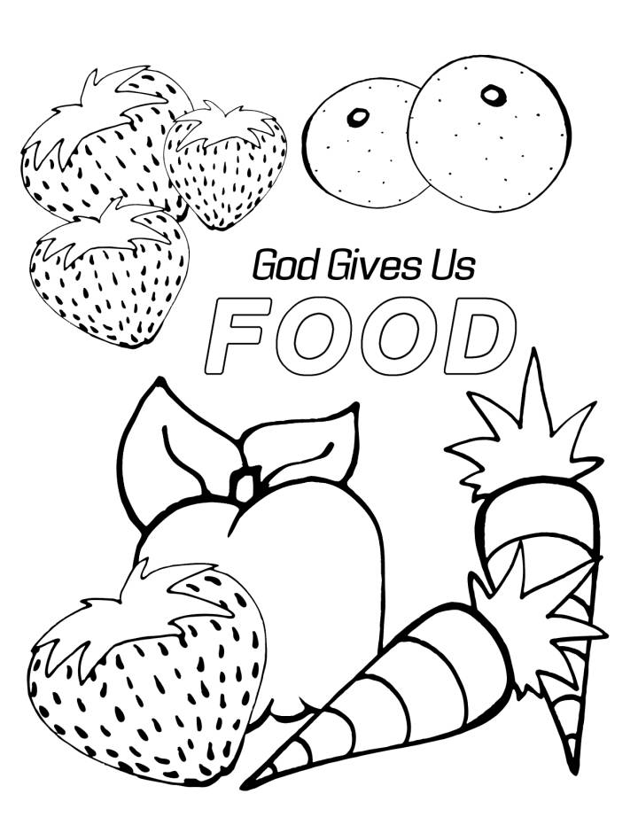 coloring food pages realistic food coloring pages at getdrawings free download food pages coloring
