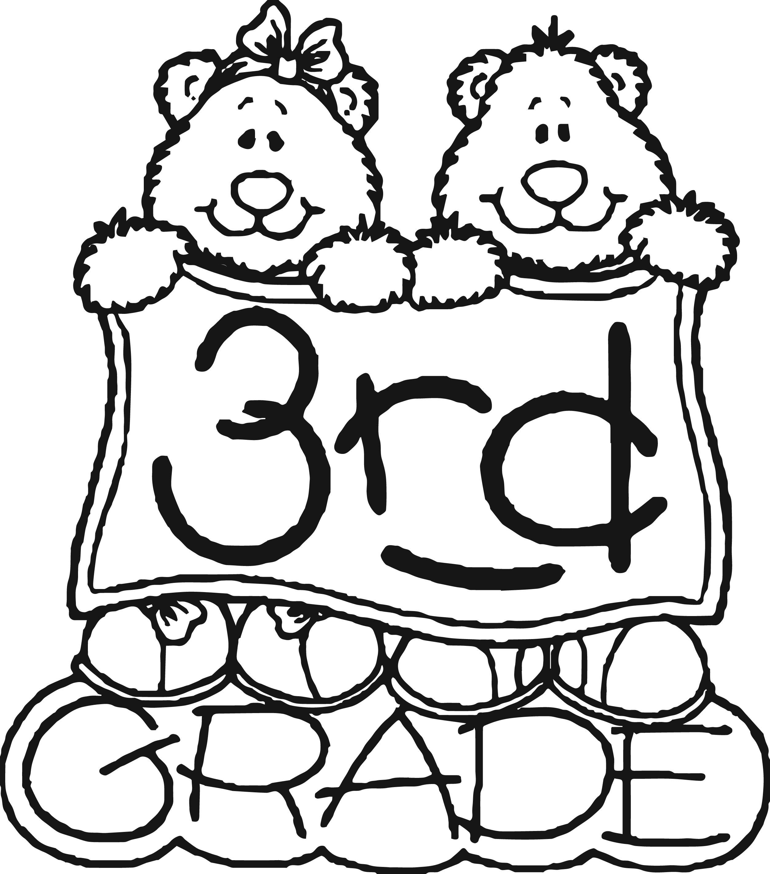 coloring for grade 3 3rd grade coloring pages free download on clipartmag 3 grade coloring for