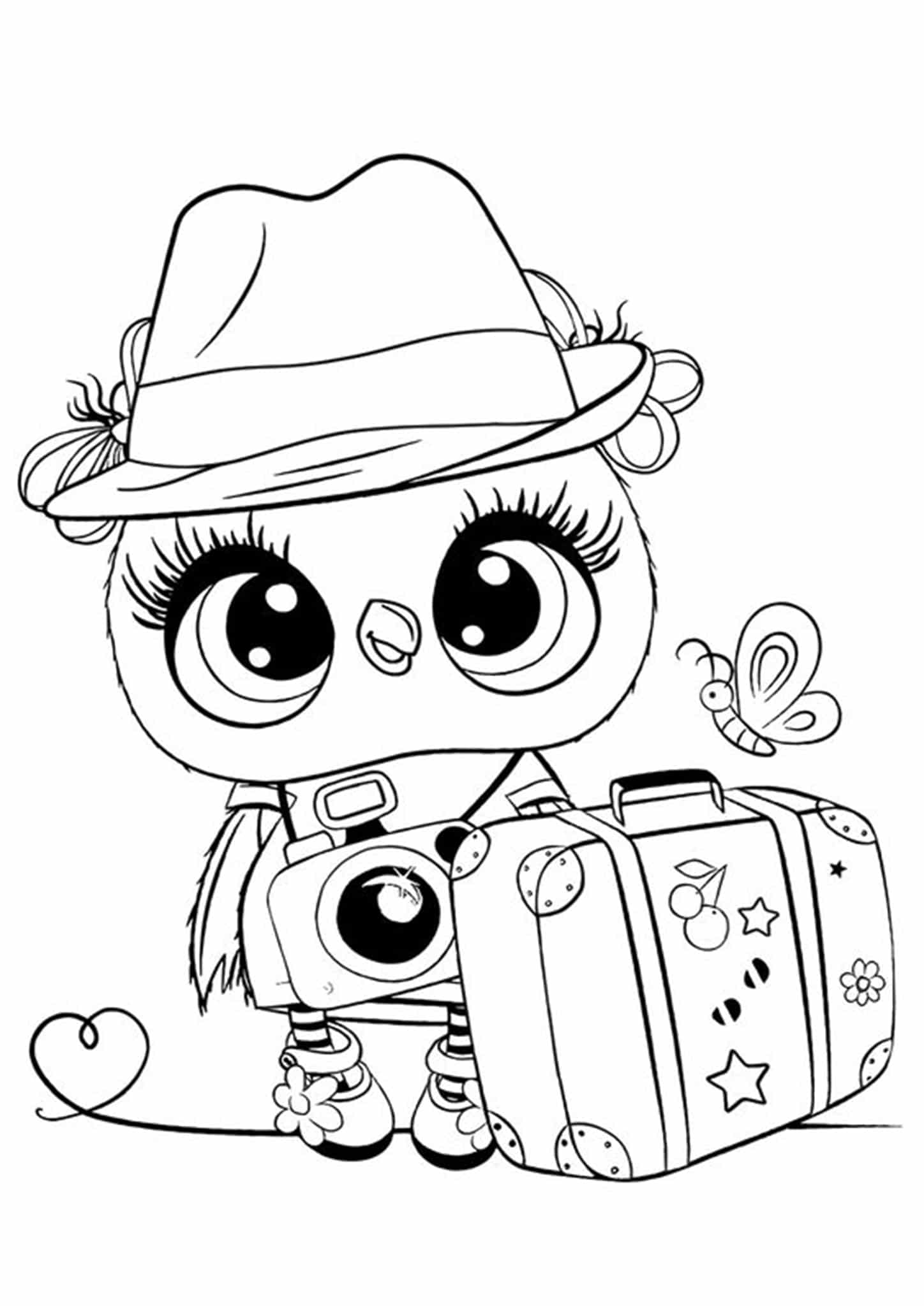 coloring for kids easy cute animal coloring pages best coloring pages for kids easy for coloring kids