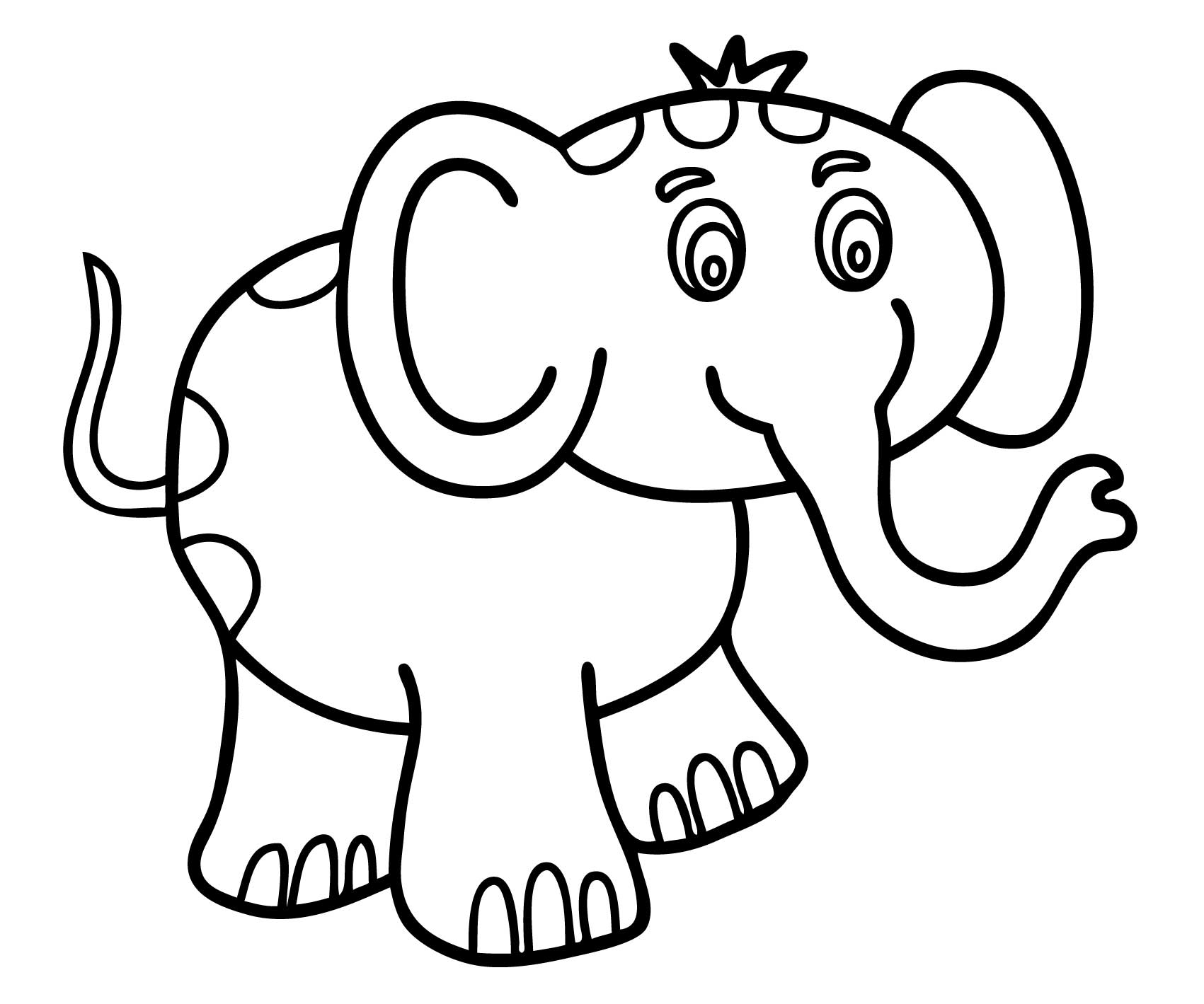 coloring for kids easy easy coloring pages coloringrocks easy for coloring kids