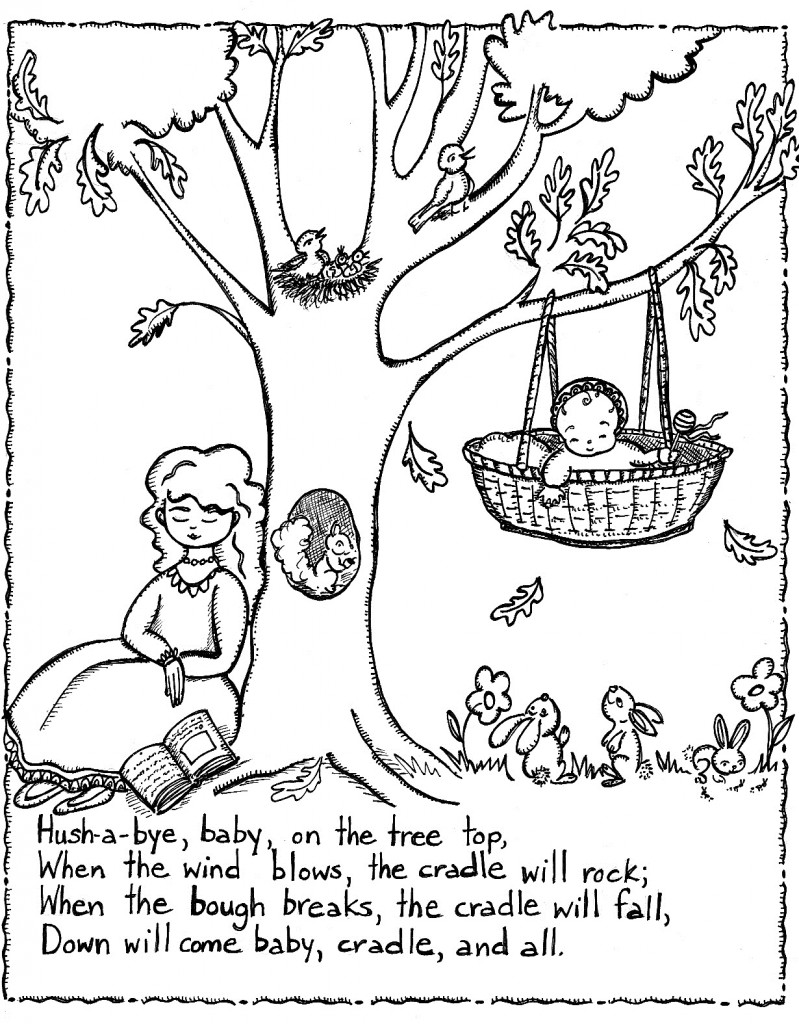coloring for nursery kids free printable nursery rhymes coloring pages for kids nursery kids coloring for