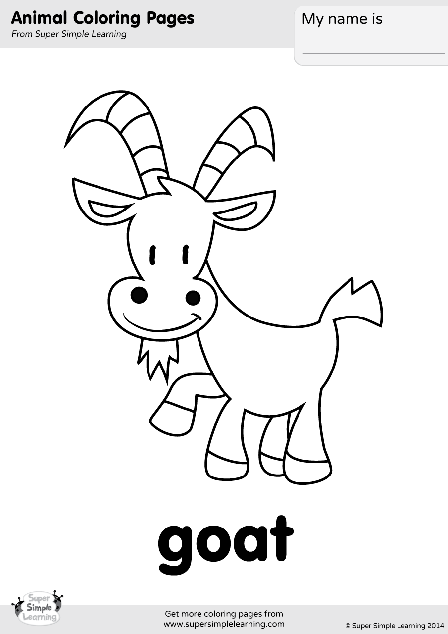 coloring goat free printable goat coloring pages goat coloring pictures goat coloring