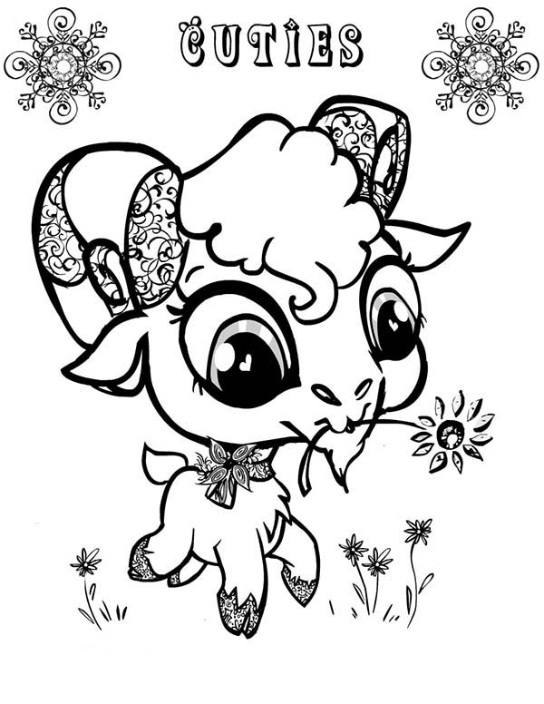 coloring goat g is for goat coloring pages color luna goat coloring