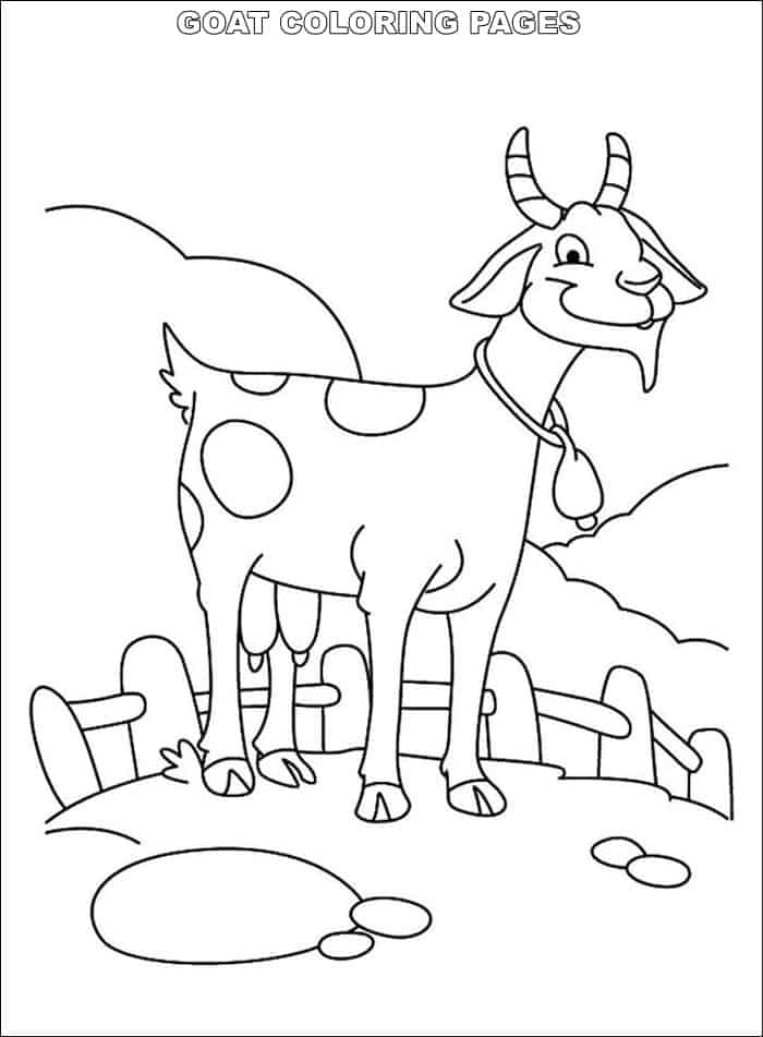 coloring goat pygmy goats coloring page coloring home coloring goat