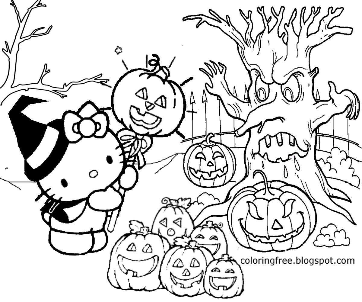 coloring halloween drawings free coloring pages printable pictures to color kids drawings halloween coloring