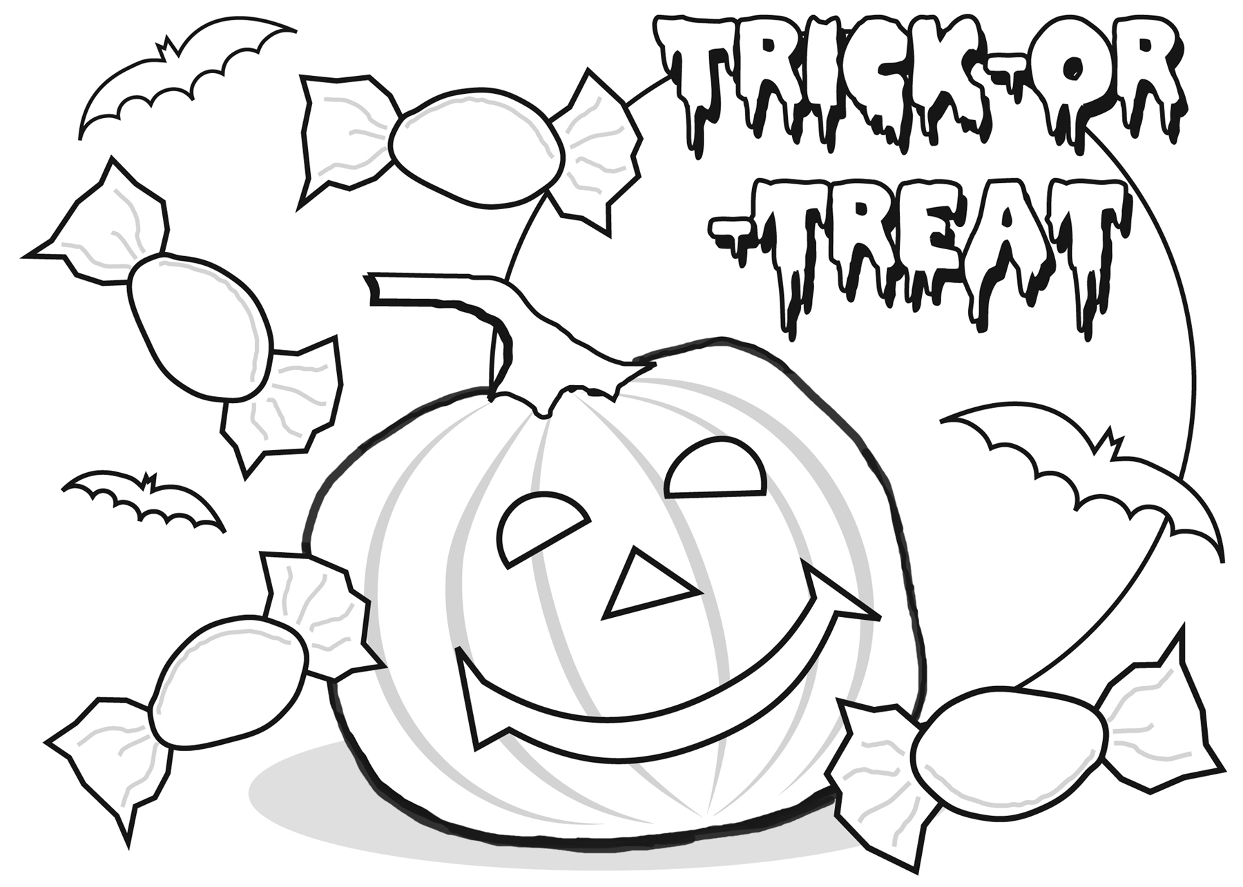 coloring halloween drawings halloween coloring pages to download and print for free halloween drawings coloring