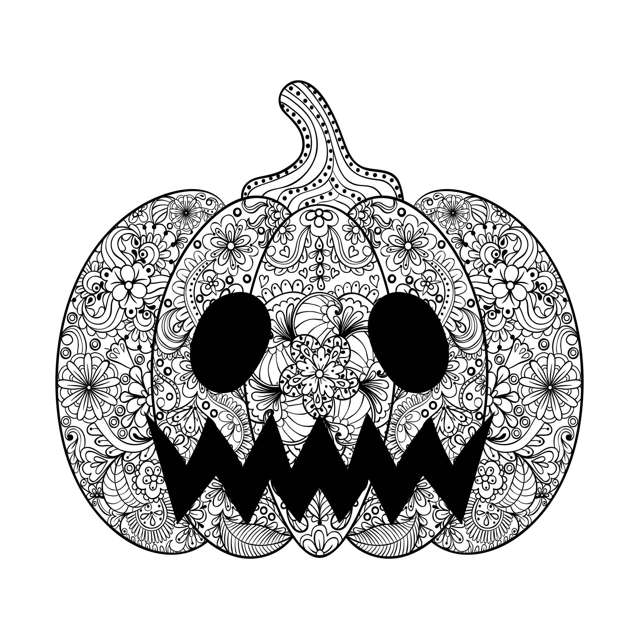 coloring halloween drawings halloween scary pumpkin halloween adult coloring pages halloween drawings coloring
