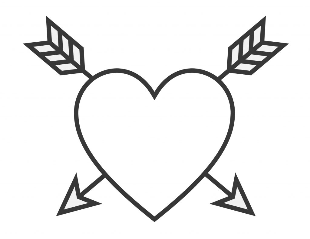 coloring heart for kids easy heart coloring pages for kids stripe patterns kids for heart coloring